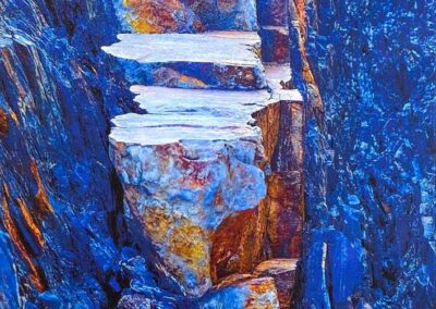 Cheryl Hassen - One Step at a Time (Fine Art Photography; Rock Artistry)